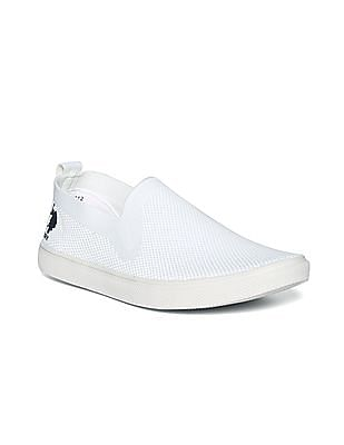U.S. Polo Assn. Textured Knit Slip On Shoes
