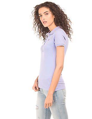 Aeropostale Regular Fit Pique Polo Shirt