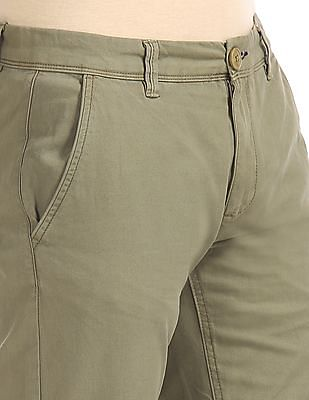 Cherokee Modern Fit Solid Trousers