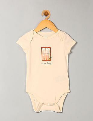 GAP Baby Hello City Graphic Bodysuit
