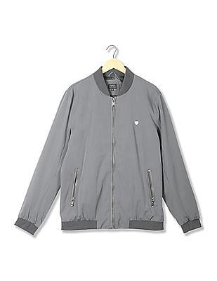 Arrow Sports Regular Fit Bomber Jacket