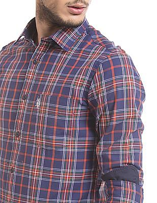 U.S. Polo Assn. Tartan Plaid Tailored Fit Shirt
