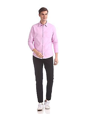 Roots by Ruggers Slim Fit Solid Shirt