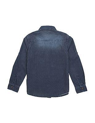 U.S. Polo Assn. Kids Boys Regular Fit Corduroy Shirt