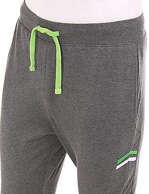 Colt Drawstring Waist Active Heathered Shorts