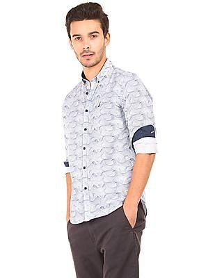 Bayisland Printed Slim Fit Shirt
