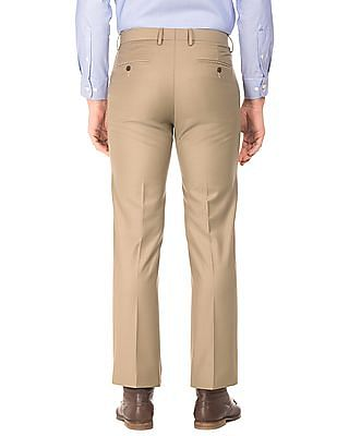 Arrow Flat Front Smart Fit Trousers