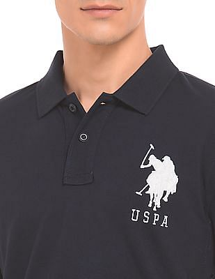 U.S. Polo Assn. Slim Fit Applique Polo Shirt
