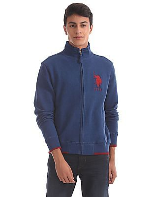U.S. Polo Assn. Regular Fit Zip Up Sweatshirt