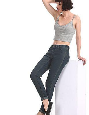 Newport Blue Skinny Fit Dark Wash Jeans