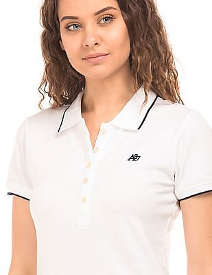 Aeropostale Tipped Regular Fit Polo Shirt