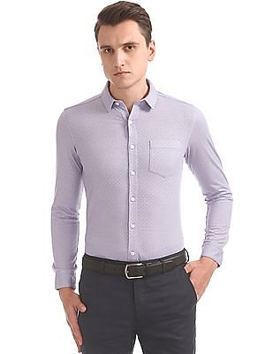 Arrow Printed Knit Shirt