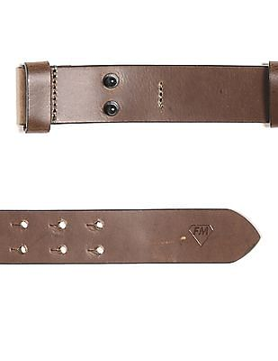 Flying Machine Adjustable Leather Belt