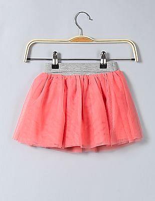 GAP Toddler Girl Pink Tulle Flippy Skirt