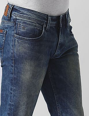 True Blue Modern Fit Tinted Jeans