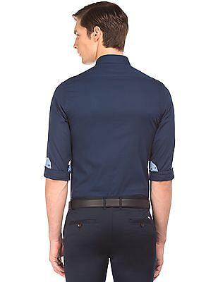 Arrow Sports Dobby Weave Slim Fit Shirt