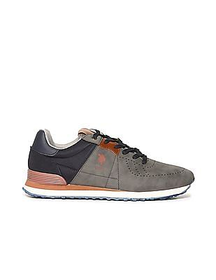 U.S. Polo Assn. Perforated Colour Block Sneakers