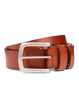 Cherokee Burnished Leather Belt