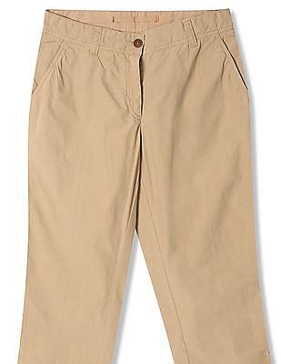 Gant Roll Up Poplin Pants