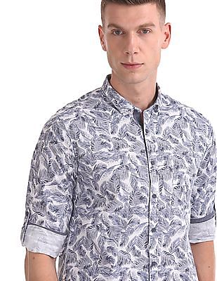 Cherokee Printed Long Sleeve Shirt
