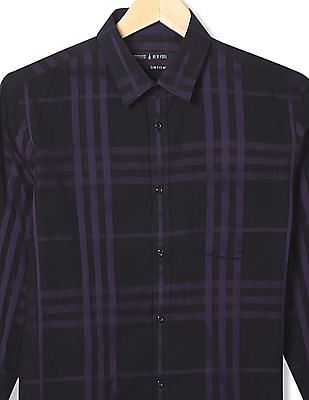 Arrow Newyork Slim Fit Printed Shirt