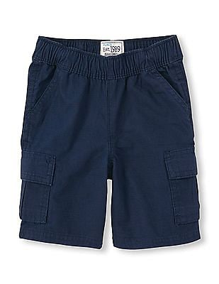 The Children's Place Baby Woven Cargo Shorts