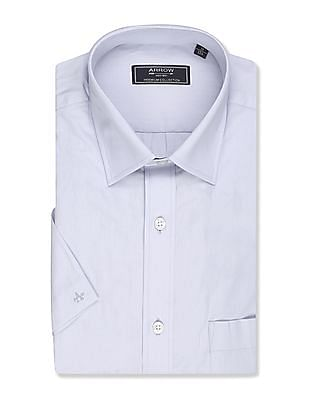 Arrow Premium Formal Regular Fit Short Sleeve Shirt