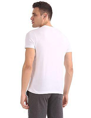 USPA Innerwear Crew Neck Graphic T-Shirt