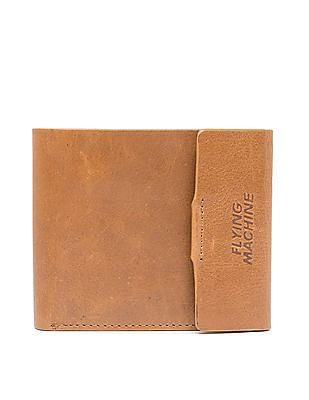 Flying Machine Bi-Fold Buttoned Wallet