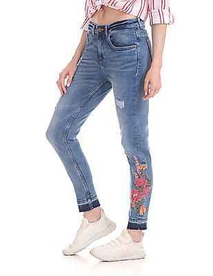 U.S. Polo Assn. Women High Waist Skinny Jeans