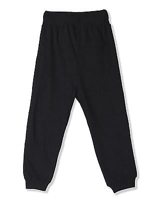 Cherokee Grey Boys Panelled Knit Joggers