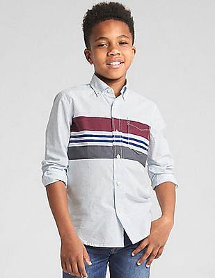 GAP Poplin Long Sleeve Shirt