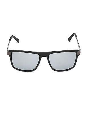 Arrow Polarized Mirrored Lens Frame Sunglasses