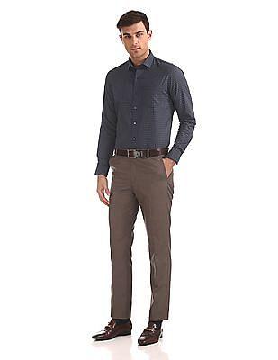 Arrow Newyork Slim Fit Checked Shirt