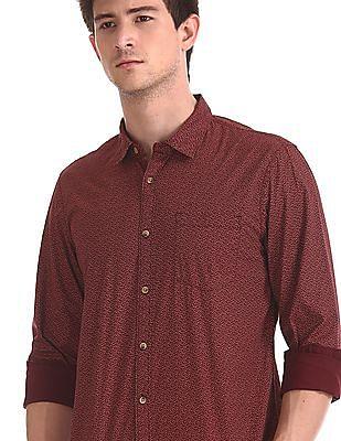 Ruggers Printed Long Sleeve Shirt