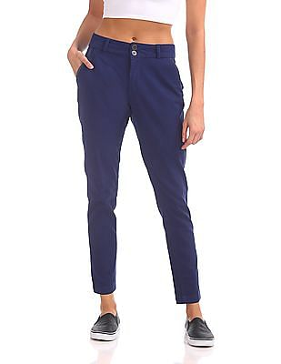 Cherokee Solid Twill Trousers