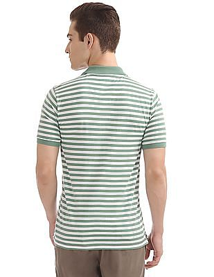 Cherokee Striped Regular Fit Polo Shirt