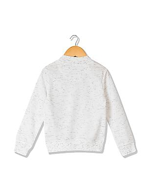 Cherokee Girls Heathered Sweatshirt