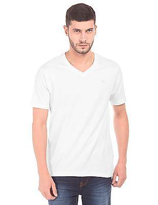 Aeropostale V-Neck Cotton T-Shirt