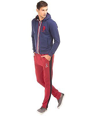 U.S. Polo Assn. Elasticized Waist Slim Fit Track Pants