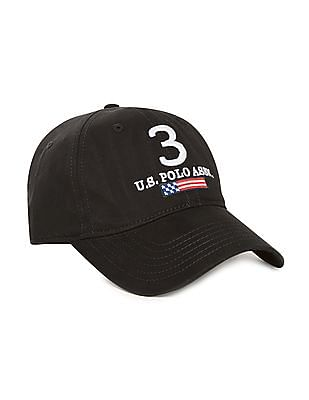 U.S. Polo Assn. Embroidered Panelled Cap