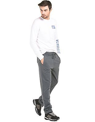Aeropostale Heathered Cotton Track Pants