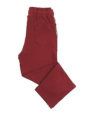 Cherokee Boys Drawstring Waist Cotton Track Pants