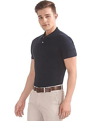 Arrow Textured Regular Fit Polo Shirt
