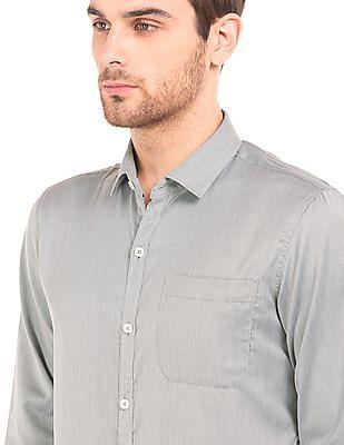 Excalibur Slim Fit Jacquard Shirt