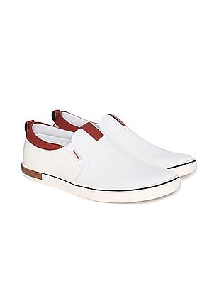 Flying Machine Colour Block Slip On Shoes