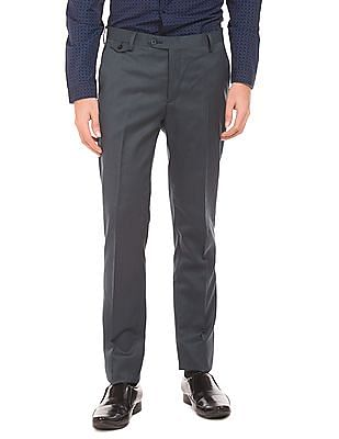 Izod Patterned Super Slim Fit Trousers