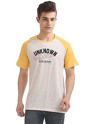 Colt Speckled Colour Block T-Shirt
