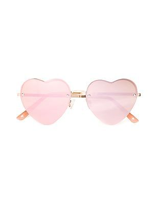 Aeropostale Heart Shaped Tinted Sunglasses