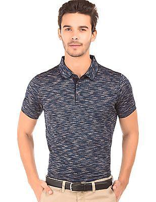 Arrow Sports Patterned Polo Shirt